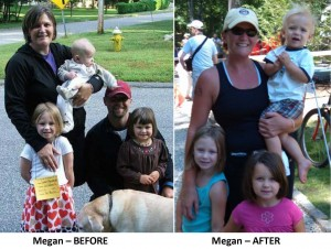 Megan Before and After