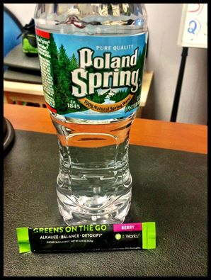 H20 + Greens on the go!