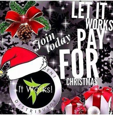 It Works Pays for Xmas