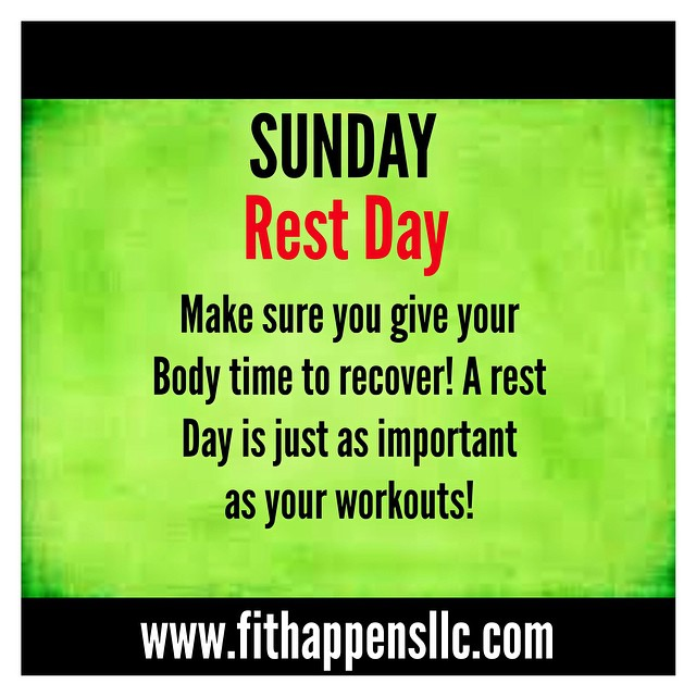 Fit Happens Instagram Workout 3-8 Sunday